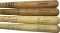 Baseball Collectibles:Others, Vintage Little League Bats Lot of 4.... (Total: 4 items)