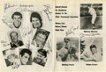 Autographs:Others, 1975 Pinter Tournament of Stars Multi-Signed Golf Program withDiMaggio, Mantle....