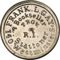Civil War Merchants, 1863 Frank L. Gay Civil War Merchant Token....