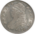 Bust Half Dollars: , 1824 50C Overdate AU53 NGC. O-101A. NGC Census: (4/43). PCGSPopulation (7/58). Numismedia Wsl. Price for NGC/PCGS coin i...