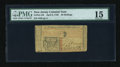 Colonial Notes:New Jersey, New Jersey April 8, 1762 30s PMG Choice Fine 15....