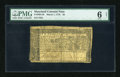 Colonial Notes:Maryland, Maryland March 1, 1770 $2 PMG Good 6 Net....