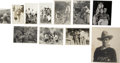 Movie/TV Memorabilia:Photos, Tom Mix Vintage Photo Archive, Set of 11.... (Total: 11 Items)