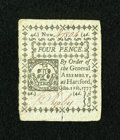 Colonial Notes:Connecticut, Connecticut October 11, 1777 4d Choice New....