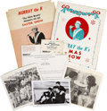 Music Memorabilia:Memorabilia, Beatles - Murray the K Memorabilia Group (1964)....