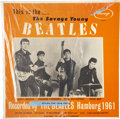 Music Memorabilia:Recordings, This Is The... The Savage Young Beatles LP (Savage 69, 1964)....