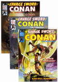 Magazines:Adventure, Savage Sword of Conan Group (Marvel, 1974-75) Condition: Average VF/NM.... (Total: 21 Items)