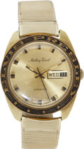 Music Memorabilia:Memorabilia, Elvis Presley Top Ten Men of the Year Award Watch....