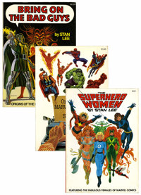 Fireside Book Series Softcover Group (Marvel/Fireside, 1974-77) Condition: Average FN/VF.... (Total: 4 Items)