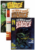 Magazines:Humor, Doc Savage (Magazine) Group (Marvel, 1975-76) Condition: AverageVF/NM.... (Total: 25 Items)