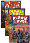 Magazines:Science-Fiction, Planet of the Apes Group (Marvel, 1974-75) Condition: AverageNM-.... (Total: 20 Comic Books)
