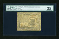 Colonial Notes:Continental Congress Issues, Continental Currency May 9, 1776 $1 PMG Choice Very Fine 35....
