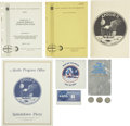 Explorers:Space Exploration, Apollo 11 Memorabilia Collection consisting of ten items....(Total: 10 Items)