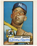Autographs:Photos, Mickey Mantle Signed Photograph...