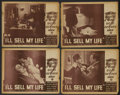 """Movie Posters:Drama, I'll Sell My Life (American Film Co., R-1940s). Lobby Card Set of 4 (11"""" X 14""""). Drama.... (Total: 4 Items)"""