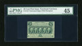 Fractional Currency:First Issue, Fr. 1310 50c First Issue PMG Choice Extremely Fine 45....
