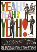 "Movie Posters:Rock and Roll, A Hard Day's Night (United Artists, R-1970s). German A1 (23.5"" X33""). Rock and Roll...."