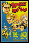 "Movie Posters:Comedy, Ruggles of Red Gap (Paramount, 1935). One Sheet (27"" X 41"").Comedy...."
