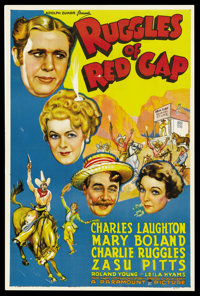 """Ruggles of Red Gap (Paramount, 1935). One Sheet (27"""" X 41""""). Comedy"""