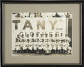 Autographs:Photos, 1947 New York Cubans Team Signed Photograph....