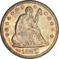 Seated Quarters, 1852-O 25C MS62 PCGS....