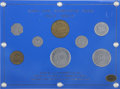 Alaska Tokens, (1935) Complete Eight-Piece Alaska Bingle Set.... (Total: 8 tokens)