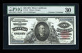 Large Size:Silver Certificates, Fr. 318 $20 1891 Silver Certificate PMG Very Fine 30....