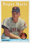 Autographs:Sports Cards, 1958 Topps Signed Roger Maris #47....