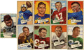 Football Cards:Sets, 1952 Bowman Large Football Partial Set (96/144).... (Total: 96 cards)