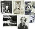 Movie/TV Memorabilia:Photos, Boris Karloff 1930s Portraits and Candids....