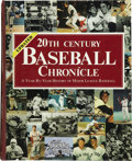 Autographs:Others, 20th Century Baseball Chronicle Signed by Over 50 Stars....