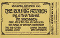 Music Memorabilia:Posters, Rolling Stones/Ike and Tina Turner/Yardbirds ABC Ardwick ConcertHandbill (1966)....