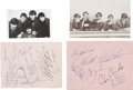 Music Memorabilia:Autographs and Signed Items, Animals Autographs Group of 2 (1960s)....