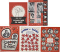 Music Memorabilia:Memorabilia, Show of Stars Vintage Program Books.... (Total: 5 Items)