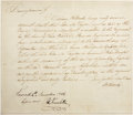 Autographs:Statesmen, Benjamin Franklin Document Docketed and Signed as President of theSupreme Executive Council of Pennsylvania....