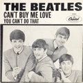 "Music Memorabilia:Recordings, Beatles ""Can't Buy Me Love"" 45/Picture Sleeve (Capitol 5150,1964)...."