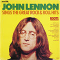 Music Memorabilia:Recordings, Beatles Related - John Lennon Roots Stereo LP (Adam VIII8018, 1975)....