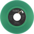 "Music Memorabilia:Recordings, Elvis Presley ""Moody Blue"" Green Vinyl 45 (RCA 10857, 1977)...."