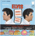 Music Memorabilia:Recordings, Elvis Presley Double Trouble Stereo LP (RCA 3787, 1968). ...