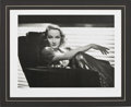 Movie/TV Memorabilia:Autographs and Signed Items, Marlene Dietrich Photo Signed by George Hurrell....