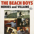 """Music Memorabilia:Recordings, Beach Boys """"Heroes and Villains"""" Rare Picture Sleeve (Capitol 5826,1966)...."""