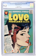 Silver Age (1956-1969):Romance, True Love Problems and Advice Illustrated #44 File Copy (Harvey,1957) CGC NM- 9.2 Cream to off-white pages....