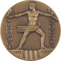 Expositions and Fairs, 1833-1933 Century of Progress Expo Large-Size Bronze Medal MS65NGC....