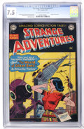 Golden Age (1938-1955):Science Fiction, Strange Adventures #7 (DC, 1951) CGC VF- 7.5 Off-white to whitepages....