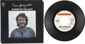 Music Memorabilia:Recordings, Bruce Springsteen Blinded By the Light Rare Picture Sleeve (Columbia 45805, 1973)....