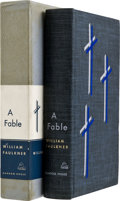 Books:Signed Editions, William Faulkner. A Fable. New York: Random House,[1954]....