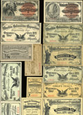 Expositions and Fairs, Diverse Group of 11 1893 World's Fair Admission Tickets.... (Total:11 pieces)