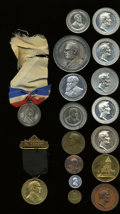 U.S. Presidents & Statesmen, Lot of 16 Medals and Tokens Depicting Presidents.... (Total: 16pieces)