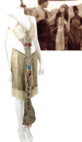 Movie/TV Memorabilia:Costumes, Theda Bara Cleopatra Long Pearl Bra and Jewel Tassel, andSalome Gold Pantaloons with Pearls. ...