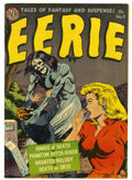 Golden Age (1938-1955):Horror, Eerie #9 (Avon, 1952) Condition: Apparent FN+....
